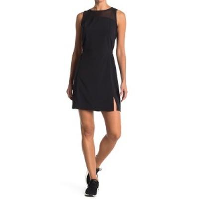 ゼットバイゼラ レディース ワンピース トップス Balance Woven Dress BLACK