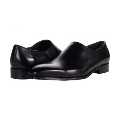 Massimo Matteo マッシオマッテオ メンズ 男性用 シューズ 靴 ローファー Almansa PT Slip-On - Black