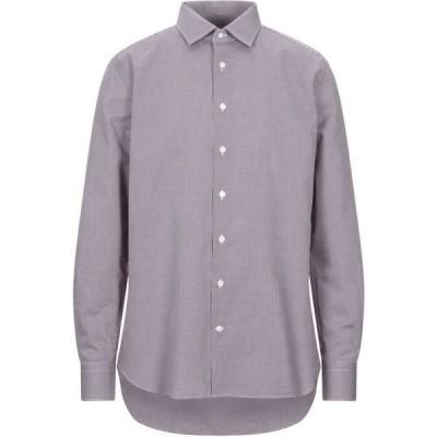 ボルサ BORSA メンズ シャツ トップス Patterned Shirt Maroon