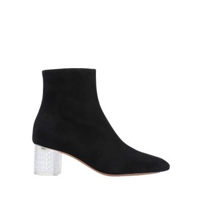 ALAÏA ショートブーツ ブラック 36 革 ショートブーツ