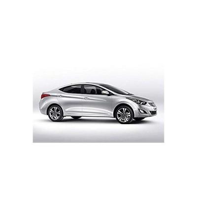 送料無料 OLIKE for Hyundai Elantra 2012-2015 Stainless Steel Door Sill Scuff Pl