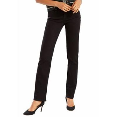 リーバイス レディース デニムパンツ ボトムス Island Rinse Classic Straight Jeans Soft Black