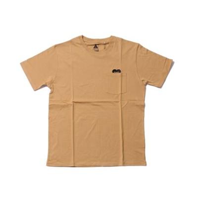 ポーラー POLeR メンズ RISING HEART EMBROIDERY POCKET TEE カジュアル シャツ Tシャツ 半袖【191013】