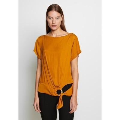 シスレー Tシャツ レディース トップス BLOUSE - Blouse - yellow