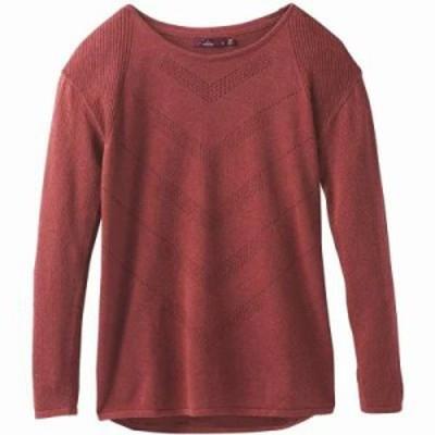 プラーナ ニット・セーター Mainspring Sweater Mulled Wine Heather