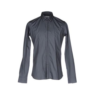 UNGARO シャツ 鉛色 39 コットン 100% シャツ