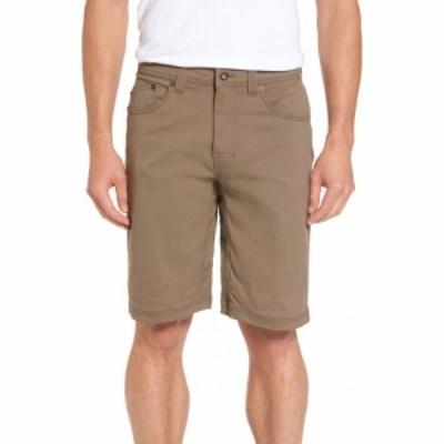 プラーナ PRANA メンズ ショートパンツ ボトムス・パンツ Brion Slim Fit Shorts Mud
