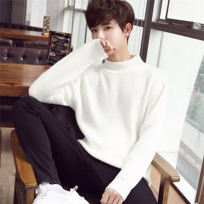 人気沸騰のメンズ ティーン 柔ら暖かい  セーター  パーソナリティ  ゆったりする   暖かい  厚手  ニット トップス メンズ セーター