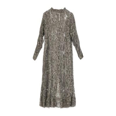 HISTORY REPEATS ロングワンピース&ドレス ミリタリーグリーン 42 ポリエステル 100% ロングワンピース&ドレス