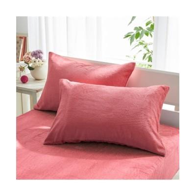 吸汗速乾タオル地レーヨン100%枕カバー(同色2枚組) ひんやりとろみが気持ちいい 枕カバー・ピローパッド, Pillow covers(ニッセン、nissen)