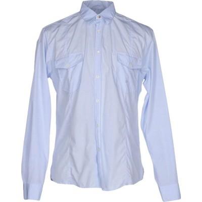ゴールデン グース GOLDEN GOOSE DELUXE BRAND メンズ シャツ トップス checked shirt Sky blue