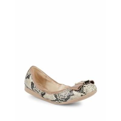 コールハーン レディース フラットシューズ Emory II Bow Leather Ballet Flats