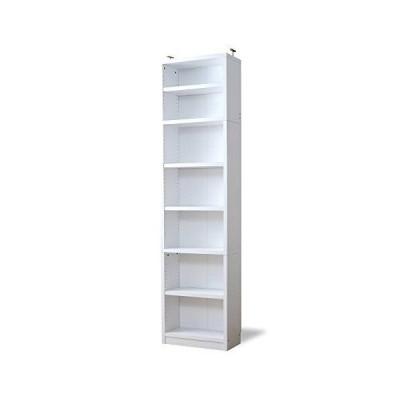 moca company 頑丈書棚 幅60 上置きセット A4対応 大容量 重厚 突っ張り 本棚 オープン ラック 奥行30 木製 書棚 オ