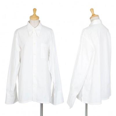 ワイズY's コットンカフスシャツ 白M位 【レディース】