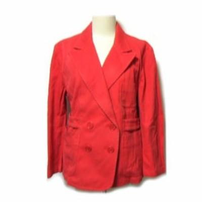 PaulSmith モッズベルトジャケット・ブルゾン red mods belt jacket (ピンク ポールスミス) 036853【中古】