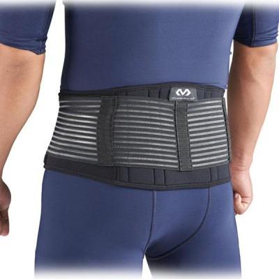 スポーツケア用品 McDavid スリム バックサポート M ブラック(BK)