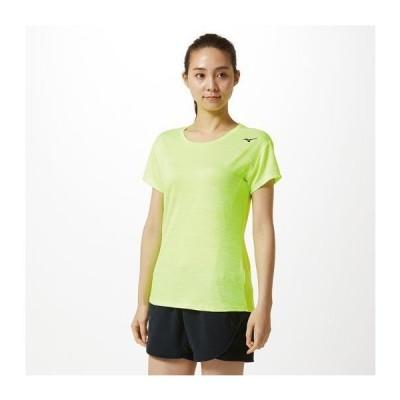 ミズノ  ミズノ Tシャツ[レディース] 31&nbspセーフティ-イエロー杢(32ma931131)  スポーツ用品 取り寄せF