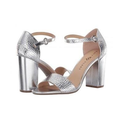 Katy Perry ケイティーペリー レディース 女性用 シューズ 靴 ヒール The Liz - Silver Hammered Emboss