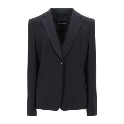 ジョルジオ アルマーニ GIORGIO ARMANI テーラードジャケット ブラック 50 ポリエステル 89% / ポリウレタン 11% テーラー