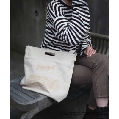 ショルダーバッグ バッグ 【 KANGOL / カンゴール 】 キャンバス ショルダー トート バッグ