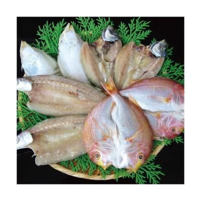 二人前地魚ひものセット エテかれい2枚 あじ枚 かます2?3枚 れんこ鯛2枚の詰合