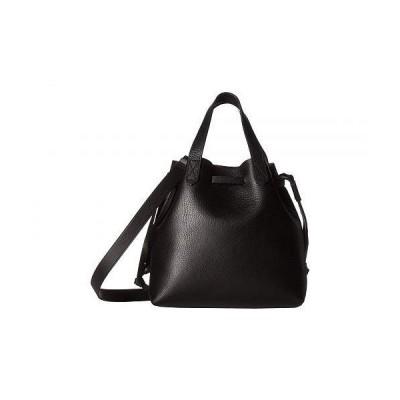 Madewell レディース 女性用 バッグ 鞄 バックパック リュック Small Drawstring Transport Crossbody - True Black