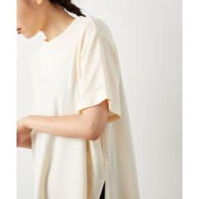NERGY(ナージー)バックスリットフレアTシャツ【お取り寄せ商品】