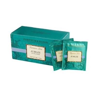 フォートナム&メイソン ジュビリー ブレンド (エリザベス女王即位60周年記念ブレンド) 25 ティーバッグ (25個入りx1箱)
