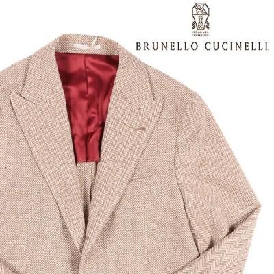 BRUNELLO CUCINELLI(ブルネロクチネリ) ジャケット C050 ブラウン x ホワイト 46 23639 【W23639】