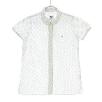 ARNOLD PALMER / アーノルドパーマー ドット柄丸襟 半袖シャツ