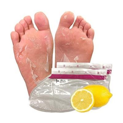フットピーリングパック ペロリン 足パック 足のかかと 角質とり 角質はがし (レモン 単品)