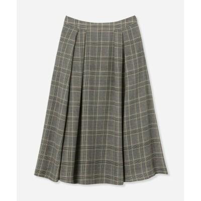MACKINTOSH LONDON/マッキントッシュ ロンドン  トラディショナルチェックプリントスカート グレー系2 38