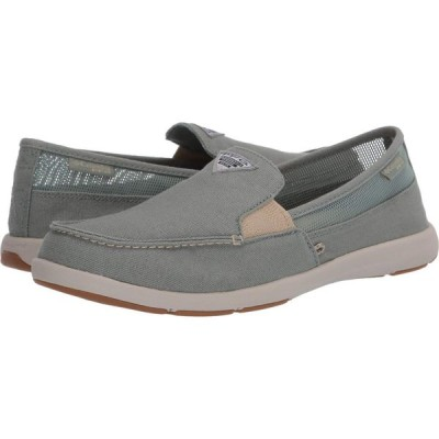 コロンビア Columbia レディース スリッポン・フラット シューズ・靴 Delray II Slip PFG Light Lichen/Oatmeal