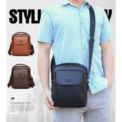 ショルダーバッグ メンズ 本革 牛革 レザー 斜めがけ ビジネスバッグ かばん 鞄 バッグ 大容量 丈夫 上品感 通学 通勤 プレゼント かばん 耐摩設計