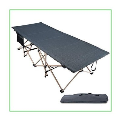 【全国送料無料】REDCAMP Oversized Folding Camping Cots for Adults 500lbs, Double Layer Oxford Strong Heavy Duty Extra Wide & Large S