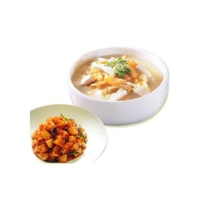[冷蔵]『韓国グルメ』プゴク+カクテキ (干したら200g+ダシダ100g+カクテキ500g)  韓国料理 韓国食品