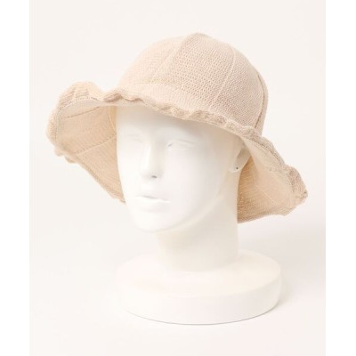 STYLEBLOCK / フリルデザインハット WOMEN 帽子 > ハット