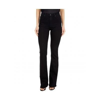 Hudson Jeans ハドソン ジーンズ レディース 女性用 ファッション ジーンズ デニム Barbara High-Waisted Bootcut in Black - Black
