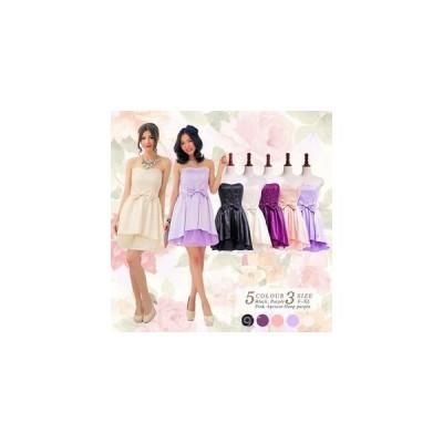 ワンピースドレス結婚式レースミニドレスミディアムドレス裾チュール
