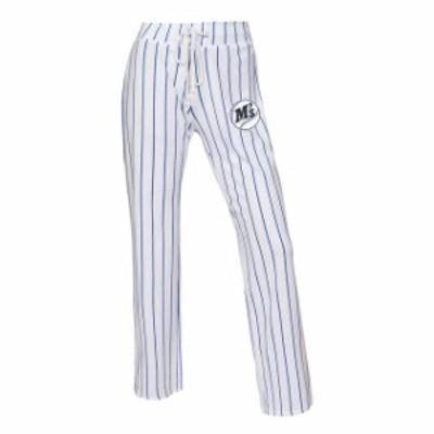Concepts Sport コンセプト スポーツ 寝間着  Concepts Sport Seattle Mariners Womens White/Royal Vigor Pinstripe Sleep