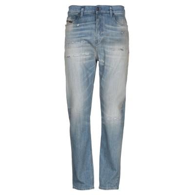 ディーゼル DIESEL ジーンズ ブルー 29W-32L コットン 98% / ポリウレタン 2% / 牛革 ジーンズ