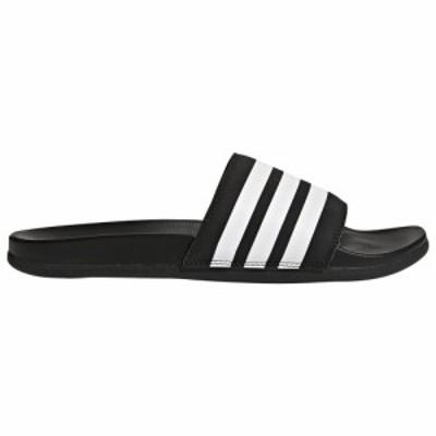 アディダス メンズ adidas Adilette Comfort Slide サンダル スリッパ Core Black/White/Core Black