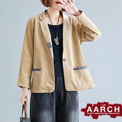 大きいサイズ ジャケット アウター レディース ファッション ぽっちゃり おおきいサイズ あり コーデュロイ 細畝 配色パイピング テーラード L LL 3L 秋冬