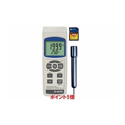 【ポイント5倍】 マザーツール (MT) マルチ水質測定器 CD-4307SD