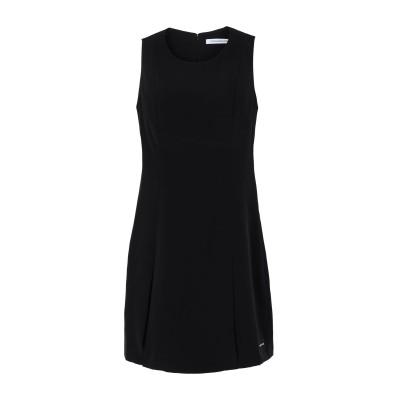 YOOX - CALVIN KLEIN JEANS ミニワンピース&ドレス ブラック S ポリエステル 100% ミニワンピース&ドレス