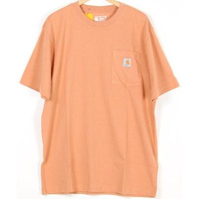 【オールウェイグッドタイムニューベーシックストア】 Carhartt/カーハート ポケットTシャツ ユニセックス サーモン M ALWAYS GOOD TIME NEW BASIC STORE