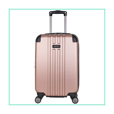 "Kenneth Cole Reaction Reverb 20"" Hardside Expandable 8-Wheel Spinner Carry-on Luggage, Rose Gold並行輸入品"
