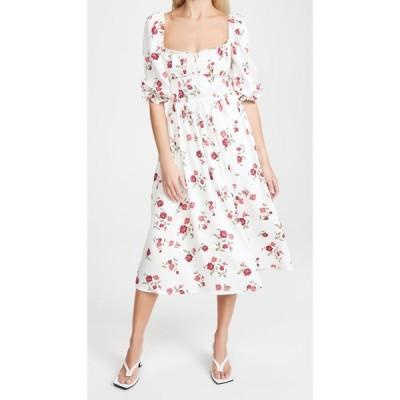 フォーラブアンドレモン For Love & Lemons レディース ワンピース マキシ丈 ワンピース・ドレス Rosie Maxi Dress White