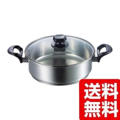 MYC-24W マイクレスト クリア 卓上鍋 24cm