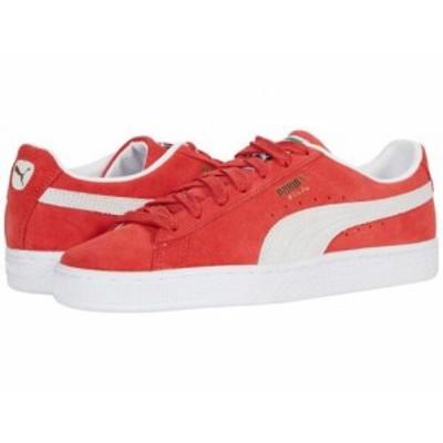 PUMA プーマ レディース 女性用 シューズ 靴 スニーカー 運動靴 Suede Classic XXI High Risk Red/Puma White【送料無料】